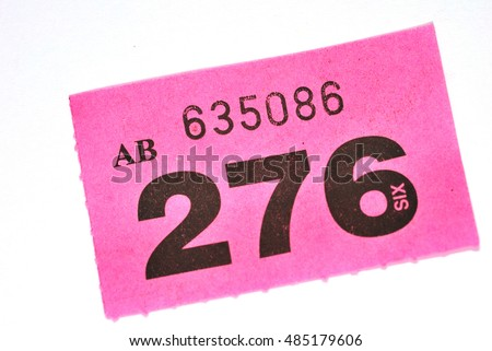 Raffle Ticket Stock Images RoyaltyFree Images  Vectors