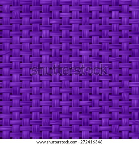 Purple seamless fabric texture pattern