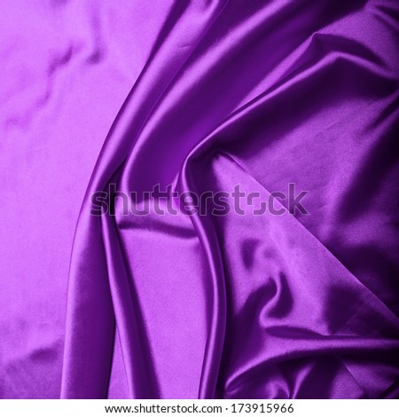 Purple silk background texture close up - stock photo