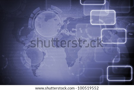 purple social network background. - stock photo