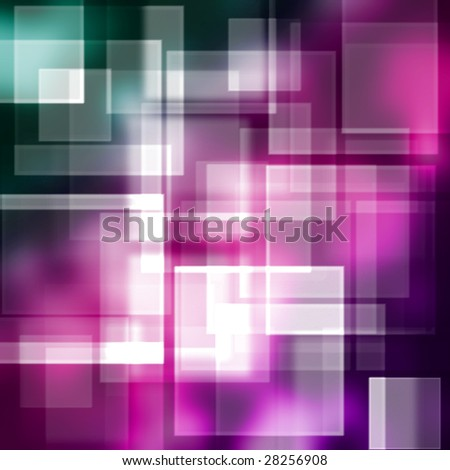 purple square background - stock photo