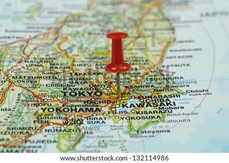 Tokyo Map Stock Images RoyaltyFree Images Vectors Shutterstock - Tokyo japan 3d map