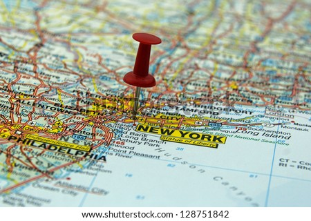 New York City Map Stock Images RoyaltyFree Images Vectors - New york in usa map