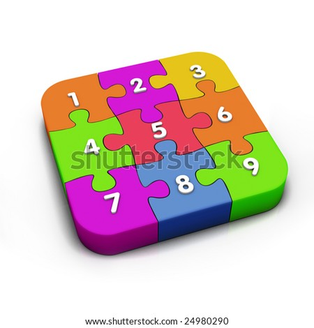 puzzle numbers together
