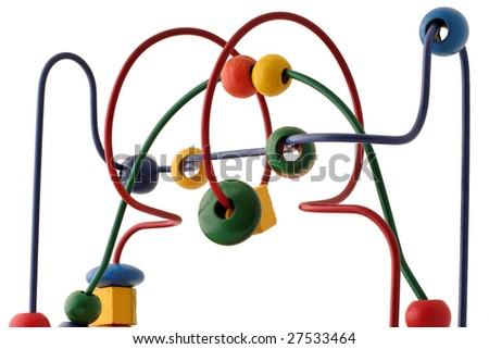 puzzle toy - stock photo