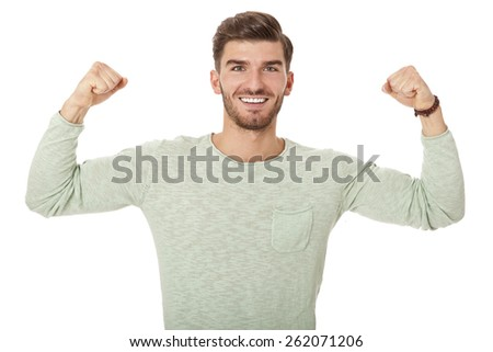 Puzzled handsome young man scratching his head with his hand as he looks at the camera with an uncertain perturbed expression, isolated on white - stock photo