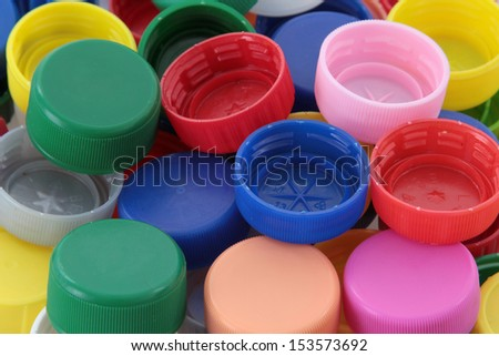 PVC cap - stock photo