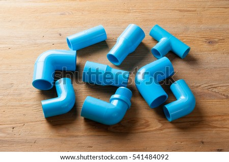PVC Pipe connections PVC Pipe fitting PVC Coupling & PVC Pipe Connections PVC Pipe Fitting Stock Photo u0026 Image (Royalty ...