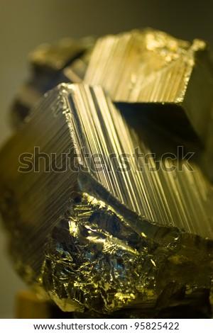 pyrite - stock photo