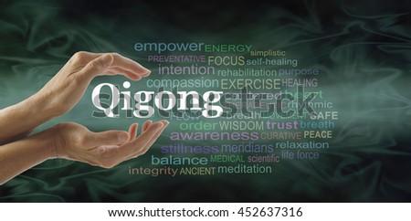 Qigong Hands Chi Kung Stock I...