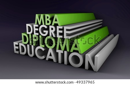 Qualifications in 3d Degree Diploma and MBA