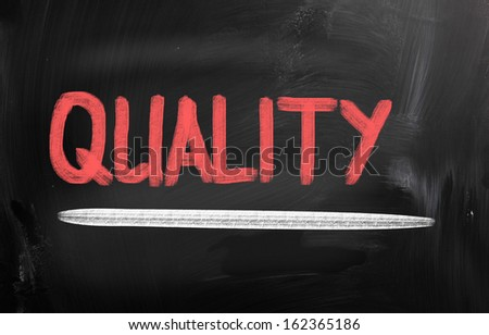 Quality Concept - stock photo