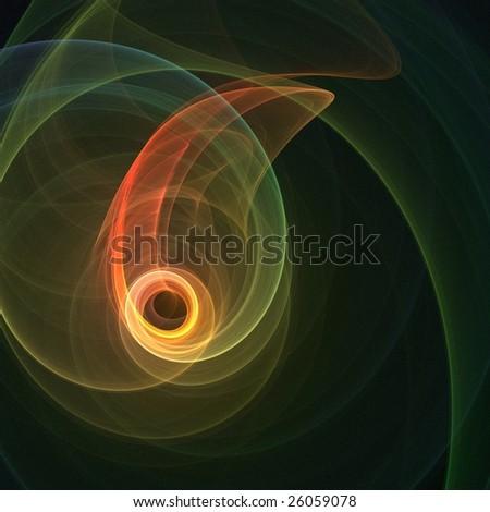 Quantum Eye - stock photo