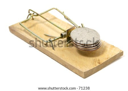 Quarters in a Mousetrap