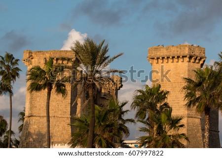 Quattro Colonne Near Santa Maria Al Stock Photo (Royalty Free ...