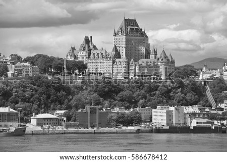 Quebec city canada 15 08 14 chateau frontenac is a grand hotel it was