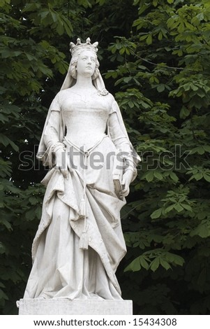 queen from Luxembourg garden in Paris