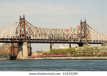Queensboro Bridge, New York City - stock photo