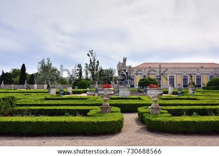 Neptune Gardens (baroque) And The