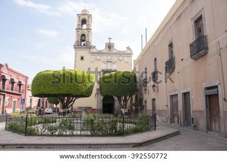 Queretaro,Mexico - stock photo