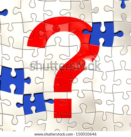 Question - stock photo