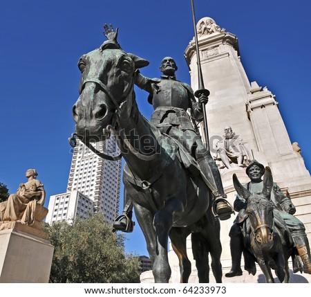 Quijote - stock photo