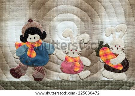 Quilt - stock photo