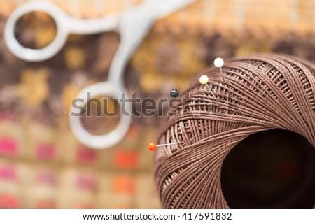 Quilt tool - stock photo