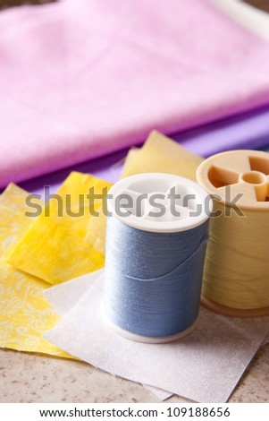Quilting 3 - stock photo