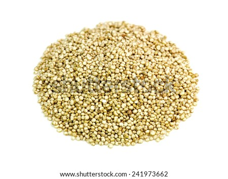 Quinoa isolated