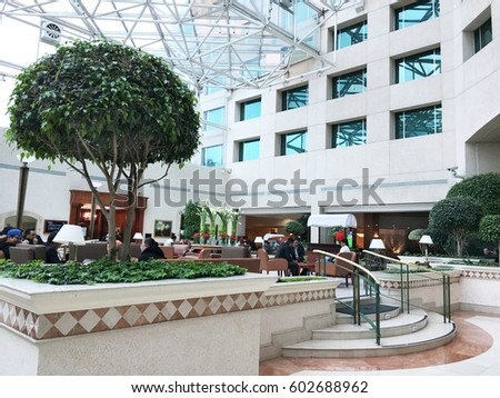Atrium stock images royalty free images vectors for Design hotel quito