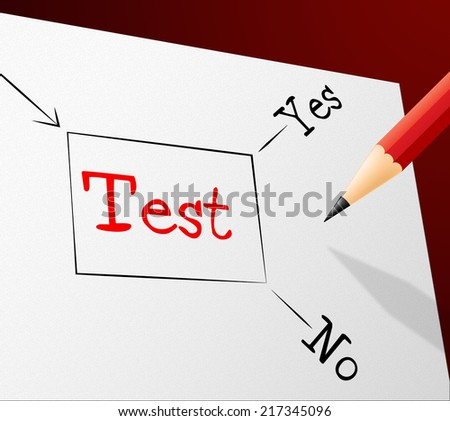 Quiz Test Indicating Questions And Answers And Quizzes Choosing