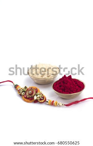 Raakhi gift sister given by brother stock photo edit now shutterstock raakhi and a gift for the sister given by brother on the occasion of raksha bandhan negle Choice Image