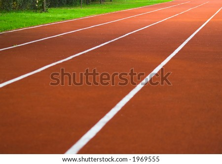 Race track - stock photo