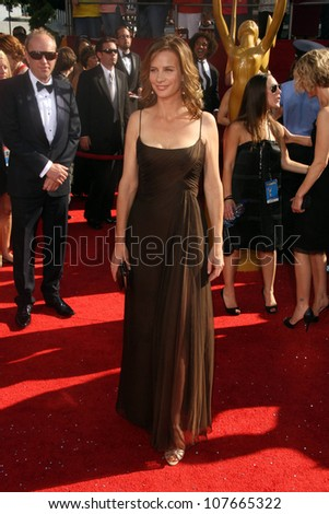 Rachel Griffiths  at the 60th Annual Primetime Emmy Awards Red Carpet. Nokia Theater, Los Angeles, CA. 09-21-08
