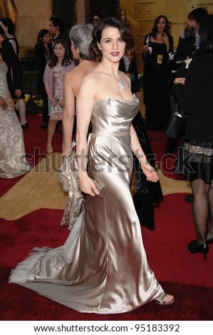 Rachel Weisz at the 79th Annual Academy Awards at the Kodak Theatre, Hollywood. February 26, 2007  Los Angeles, CA Picture: Paul Smith / Featureflash