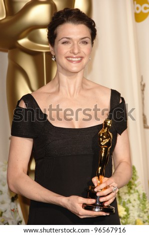 RACHEL WEISZ at the 78th Annual Academy Awards at the Kodak Theatre in Hollywood. March 5, 2006  Los Angeles, CA  2006 Paul Smith / Featureflash - stock photo