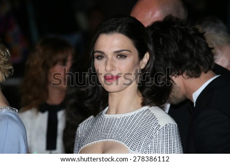 Rachel Weisz attends the 'Lobster' Premiere during the 68th annual Cannes Film Festival on May 15, 2015 in Cannes, France. - stock photo