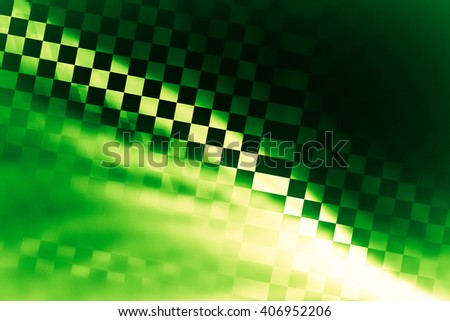 Racing abstract background. Stylized decorated fragment of the checkered flag. Spectacular and expressive approach to the subject races, rallies, speed, sport - stock photo