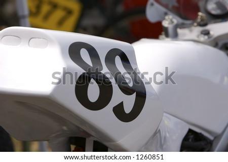 Racing Bike Detail - stock photo