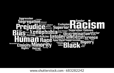 word racism In europe the word for religious discrimination is the word 'racism' america is not the only place in the world where the word is used it was coined in france in the 1930's in reference to the way the jews were being treated.