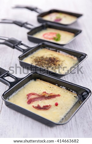 raclette  - stock photo