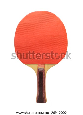 racquet tennis isolated on white background - stock photo