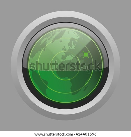 radar - stock photo