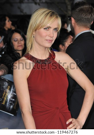 "Radha Mitchell at the world premiere of ""The Twilight Saga: Breaking Dawn - Part 2"" at the Nokia Theatre LA Live. November 12, 2012  Los Angeles, CA Picture: Paul Smith"