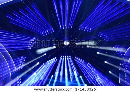 Radiant lighting background  - stock photo