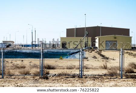 radiation zone - stock photo