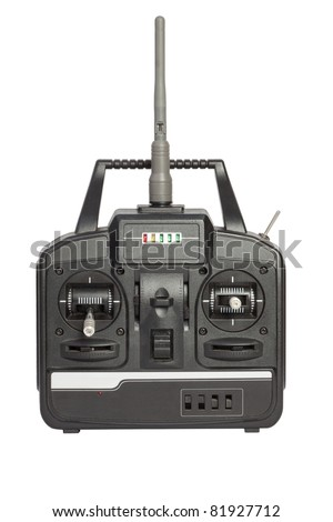 radio remote control isolated