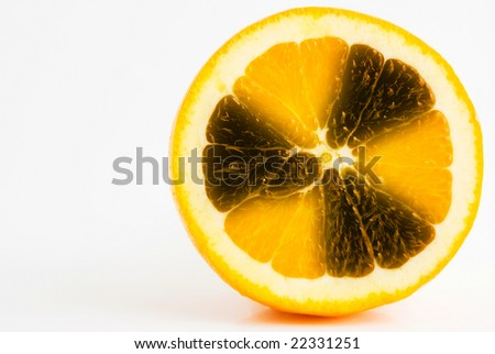 radioactive orange