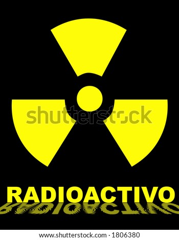 radioactivo  - stock photo
